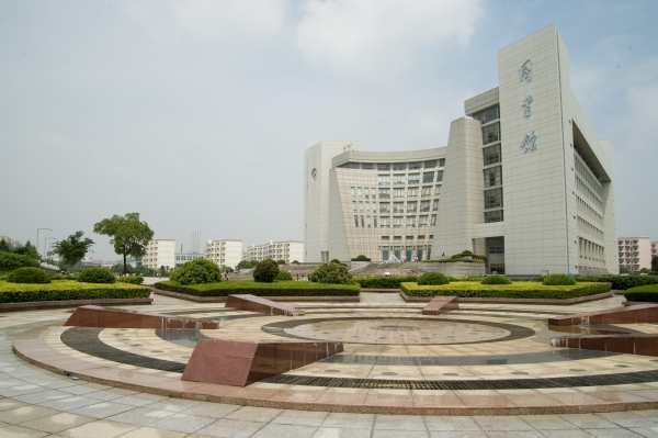 Shanghai University Library - Courtesy of Kiran Jannalagadda