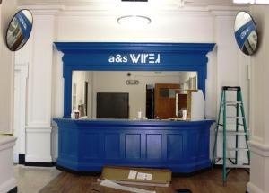 wired front desk